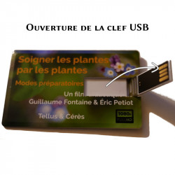 Ouverture de la clef USB